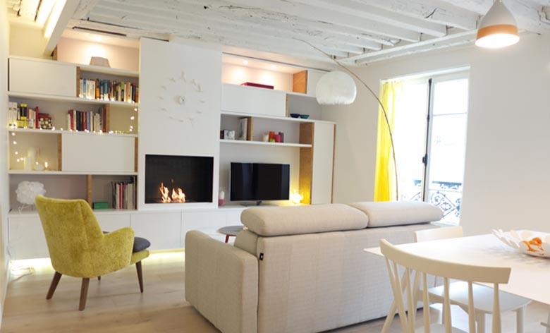 rendre un appartement ancien plus lumineux r novation d 39 un 2 pi ces. Black Bedroom Furniture Sets. Home Design Ideas