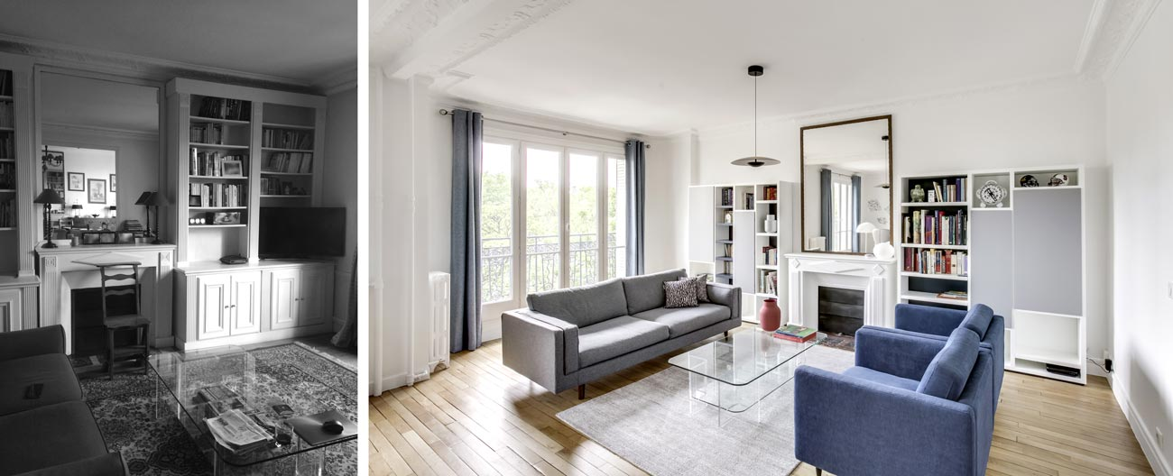 r novation appartement haussmannien 76m lille. Black Bedroom Furniture Sets. Home Design Ideas