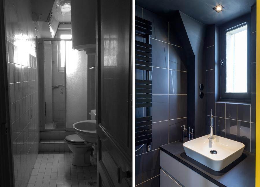 Rénovation d'une salle de bain par un architecte d'intérieur