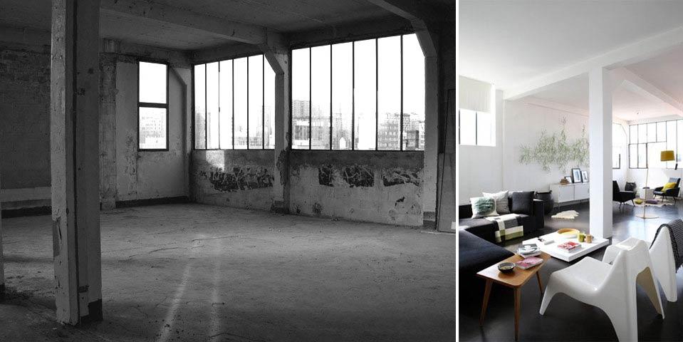 Rénovation d'un loft par un architecte d'intérieur
