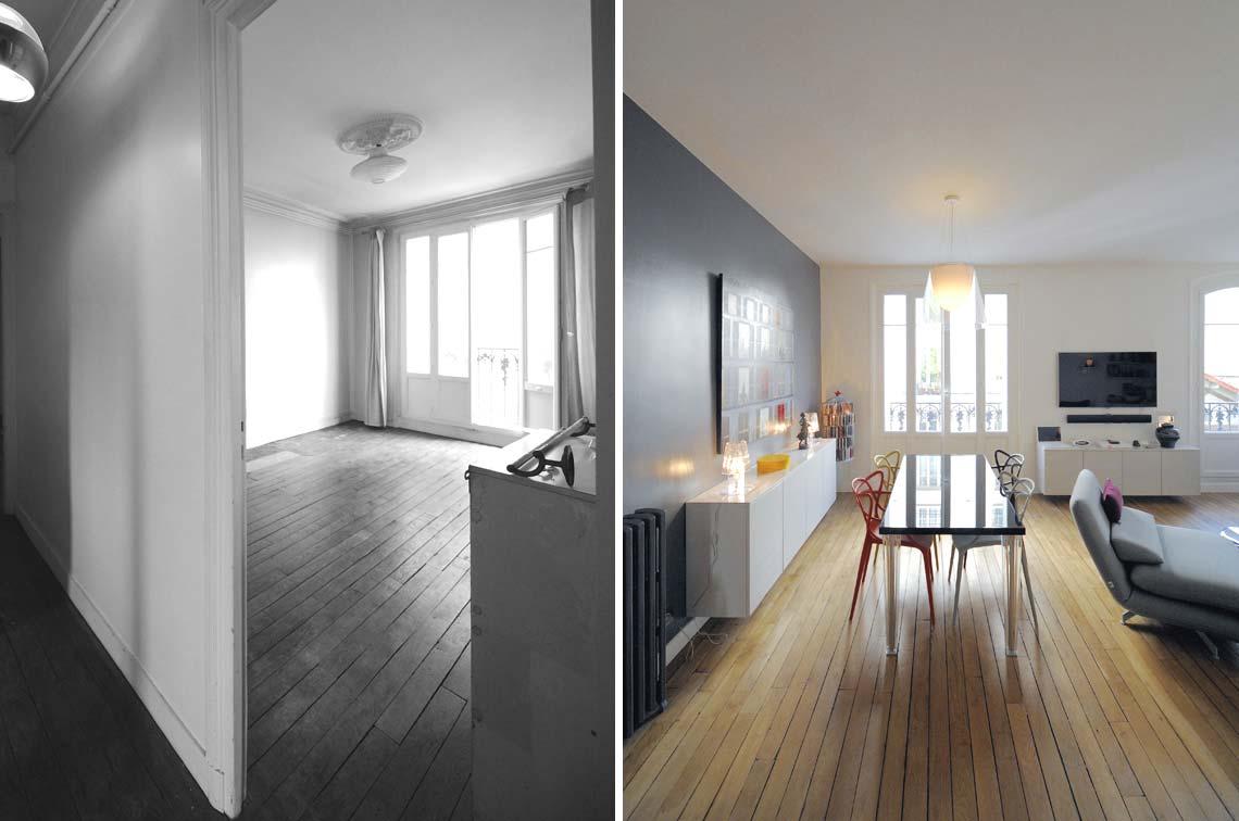 Optimisation de la lumière dans un appartement lors dune rénovation