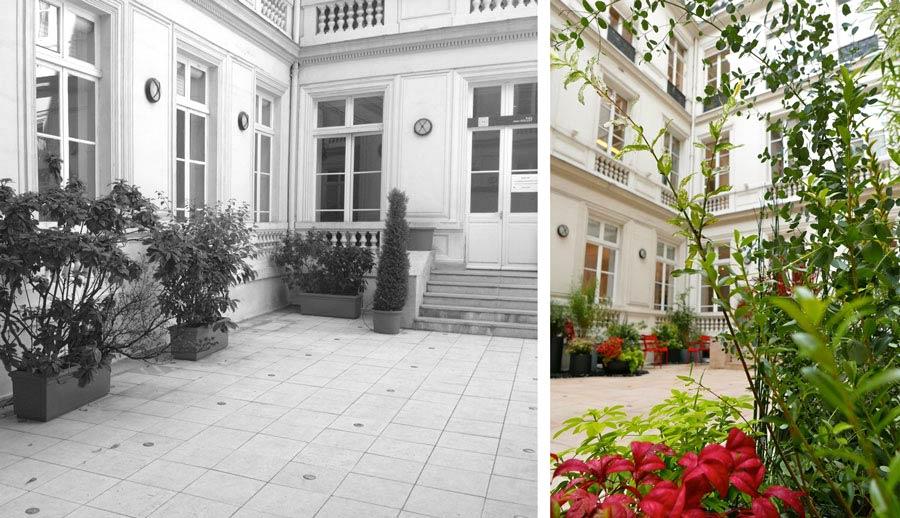 Cour int rieure d 39 un h tel particulier lille - Hotel particulier lille ...