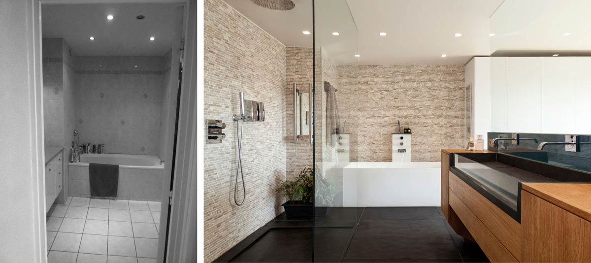 avant apr s architecture d 39 int rieur d 39 un 4 pi ces de 100m2. Black Bedroom Furniture Sets. Home Design Ideas