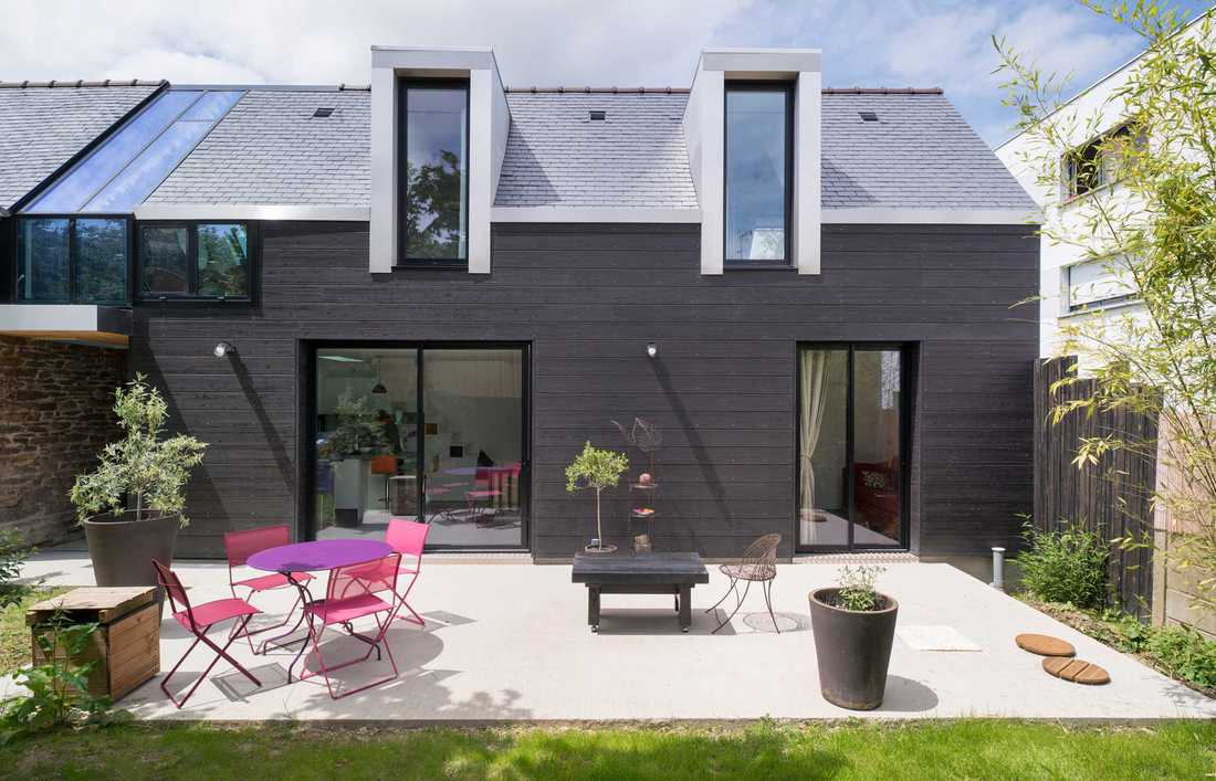 Contemporary terraced house in Lille